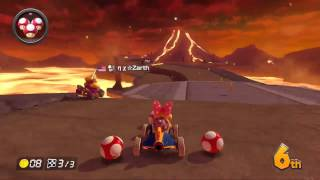 Mario Kart 8 Twitch Shenanigans (Hit by a Blue Shell in 2nd Place!)