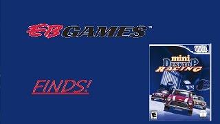 EB Games Finds! - Mini desktop racing (wii)
