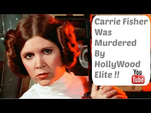 Carrie Fisher Was Murdered By The Hollywood Elite !!  Alex Jones Claims !