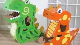 종이모형 만들기 골판지 만들기 착장형 어린이 장난감 어…