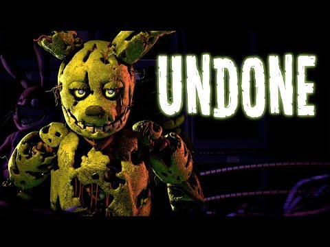 "FNAF SONG: ""Undone"""