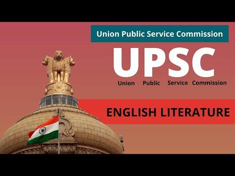 English Literature Optional I UPSC Topper's Strategy || के लिए  कैसे बनायें