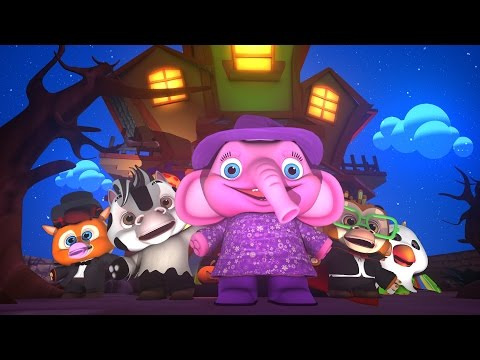 Five Little Monsters | Halloween Songs for Kids | Nursery Rhymes and Kids Songs Collection