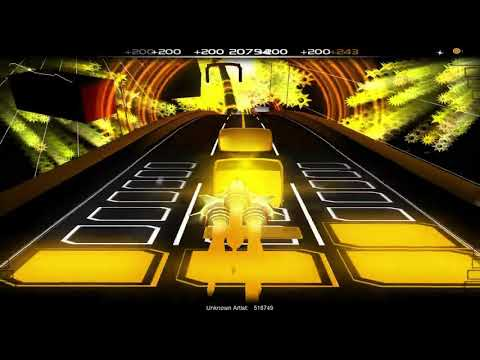 GD daily level song #4 | Waterflame - Stereophonic Sound | Audiosurf