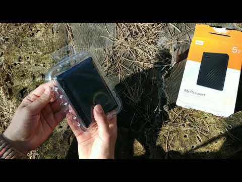 "Жорсткий диск Western Digital My Passport 5TB WDBPKJ0050BBK-WESN 2.5"" USB 3.0 External Black"