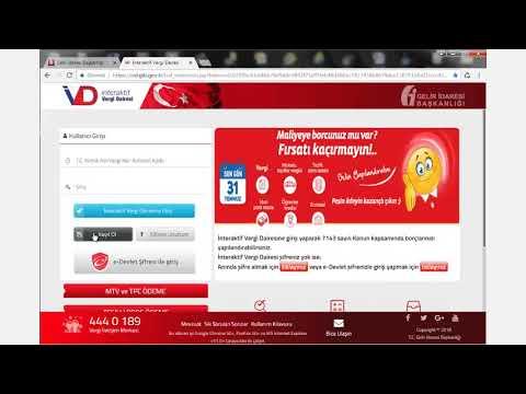 interaktif vergi dairesi - YouTube