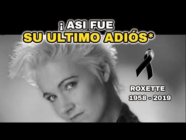 🔴¡ HACE UNAS HORAS ! DESPIDEN A FAMOSA CANTANTE,LUTO EN EL ESPECTACULO ROXETTE HOY !