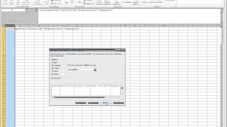 Microsoft Excel - CSV  Comma delimited