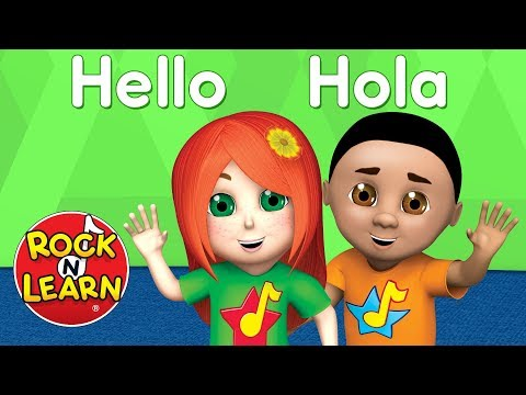 Learn Spanish for Kids - Numbers, Colors & More - Rock 'N Learn