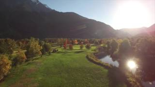 Big Sky Golf Course at Sunset in Pemberton BC