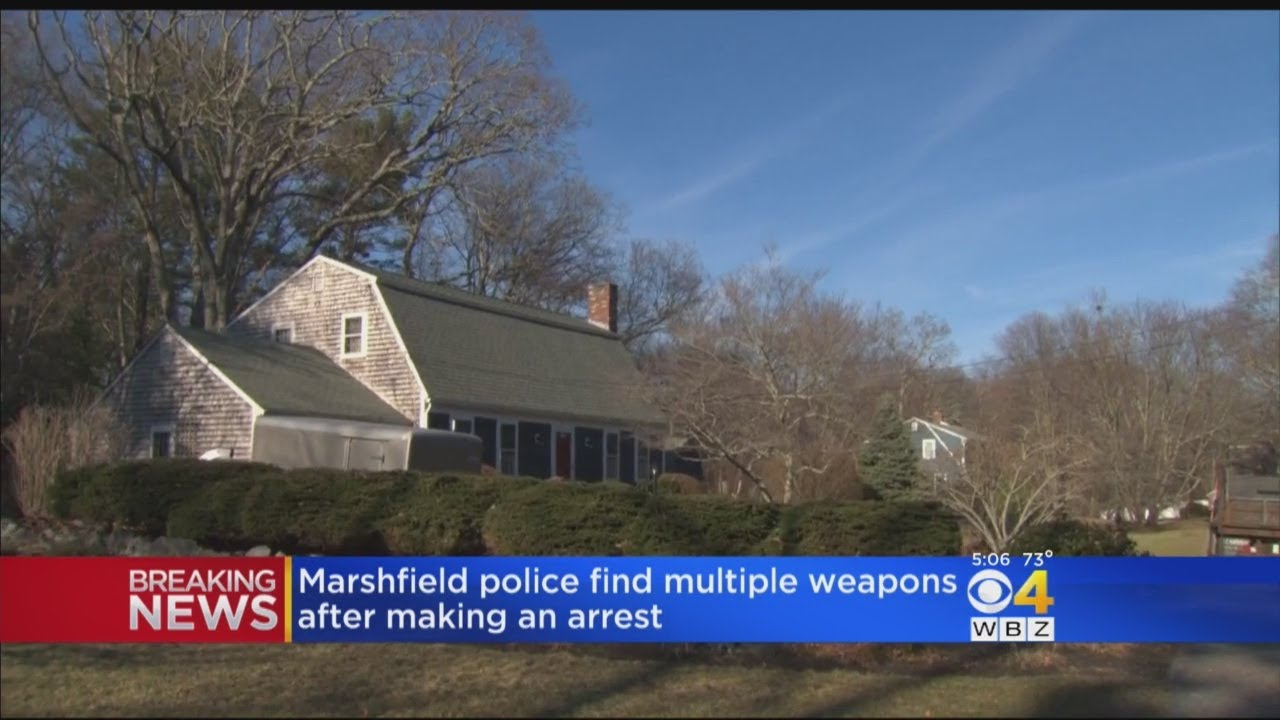 Marshfield Man Arrested After Allegedly Threatening Police