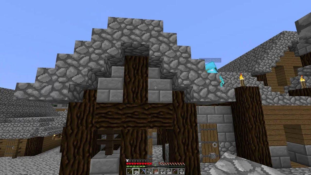 Minecraft leben part 5 wir bauen ein haus in meiner for Minecraft haus bauen