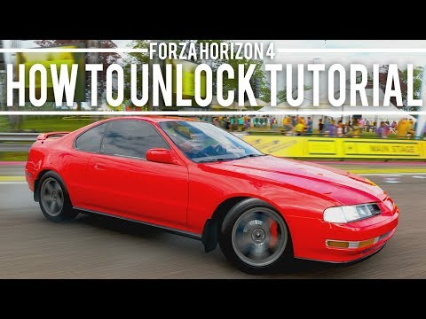 HOW TO UNLOCK 1994 HONDA PRELUDE  - FORZA HORIZON 4 thumbnail