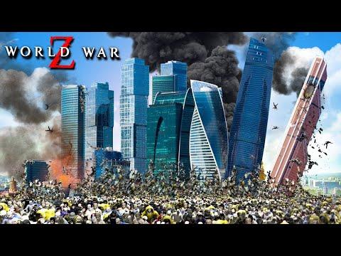 1.000.000 ЗОМБИ В МОСКВА СИТИ! ВЫЖИВАНИЕ В ЗАСЕКРЕЧЕННОМ МЕТРО! ЗОМБИ В РОССИИ В WORLD WAR Z