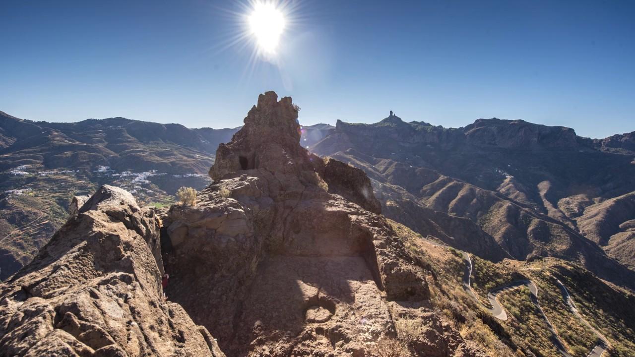 Resultado de imagen para montañas sagradas de Gran Canaria