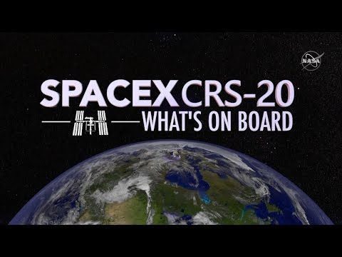 SpaceX's CRS-20 Mission to the Space Station: What's On Board