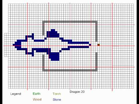 Minecraft   Dragon Blueprints   YouTube