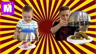 Обычная ЕДА против МОРОЖЕНОГО ЧЕЛЛЕНДЖ! Real Food vs Gummy Food - Candy Challenge