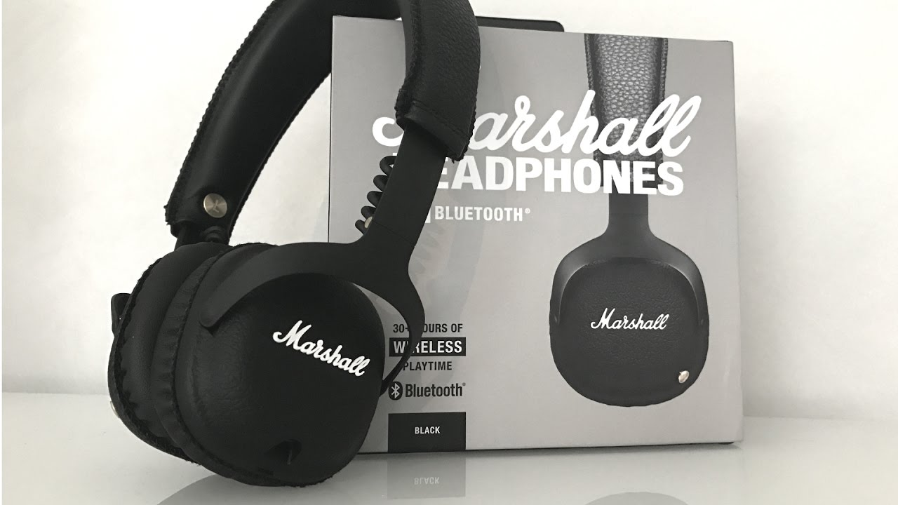 Unboxing Marshall Mid Bluetooth Headphones Youtube