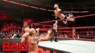 Finn Bálor & The Hardy Boyz vs. Elias Samson, Cesaro & Sheamus: Raw, June 26, 2017