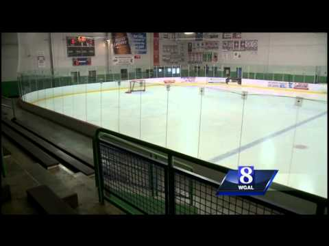 Glass Shattered By Parent At York Ice Arena