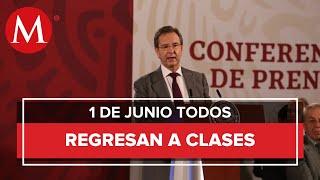 Regreso A Clases En Todo El País, El 1 De Junio: Sep