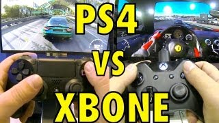 PS4 vs XBOX ONE - DualShock 4 vs XBone Controller Review - Hands-on.