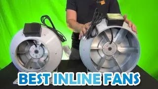 "Powerful & Quiet Inline Duct Fans Rebel Inline Centrifugal Blower 4"" 6"" 8"" 10"" 12"" Best Inline Fans"