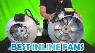 """Powerful & Quiet Inline Duct Fans Rebel Inline Centrifugal Blower 4"""" 6"""" 8"""" 10"""" 12"""" Best Inline Fans"""