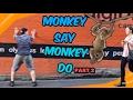 Monkey Say Monkey Do (part 2) *PUBLIC VIDEO*