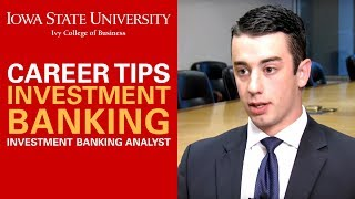 Investment Banking Career Tips - What does an Investment Banking Analyst Do?