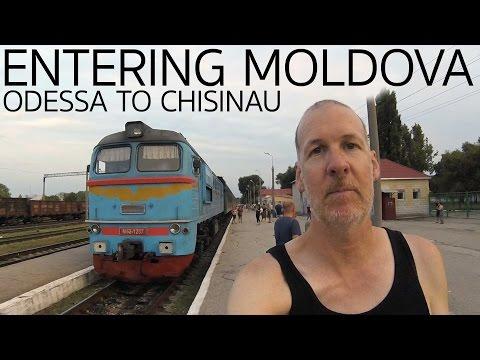 Crossing from Odessa Ukraine to Chisinau Moldova E013