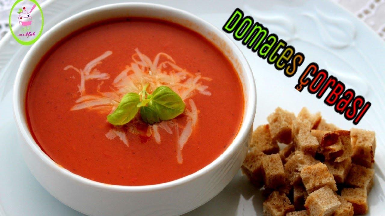 Pirinçli Domates Çorbası