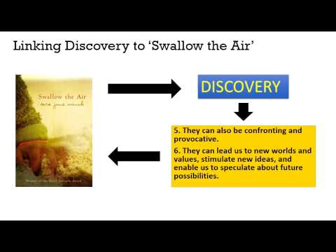 Видео Swallow the air essay about belonging