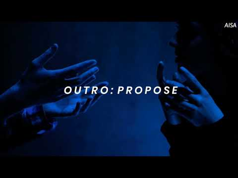 BTS (방탄소년단) 'Outro: Propose' Easy Lyrics