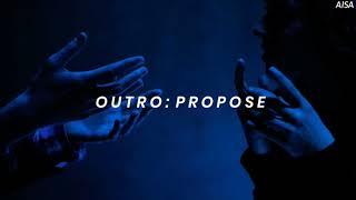 BTS (방탄소년단) 'Outro: Propose' Easy Lyrics