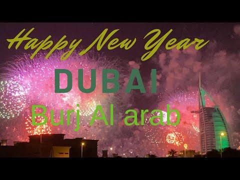 Fireworks 2020 : Burj al arab Dubai