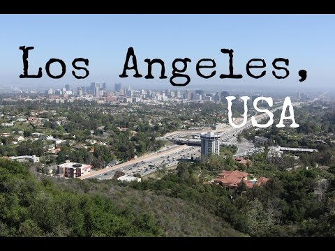 ARRIVING IN LA - USA TRAVEL VLOG - The Adventures of Pip & Tobes