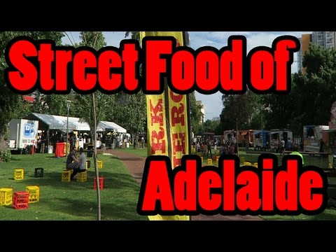 Fork on the road.  Adelaide Street Food Truck event Nov 2016