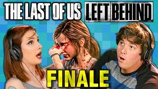 FINAL EPISODE! | THE LAST OF US: Left Behind - PART 4 (React: Gaming)
