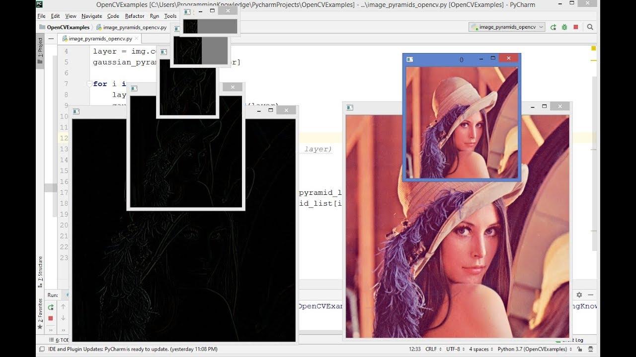 OpenCV Python Tutorial For Beginners 21 — Image Pyramids With Python