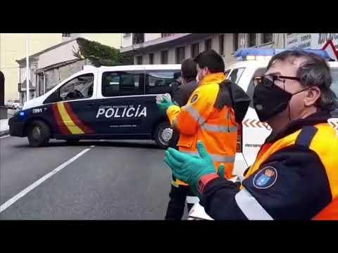 Visita de la fuerzas de seguridad a dos residencias de Viveiro