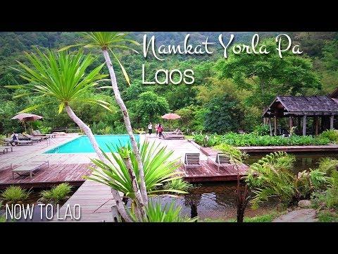 Travel Laos: Gorgeous Luxury Resort Namkat Yorla Pa, Northern Laos - Now to Lao Travel Vlog
