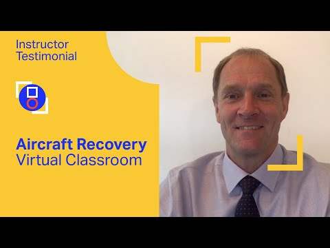 IATA Training | Aircraft Recovery Instructor testimonial