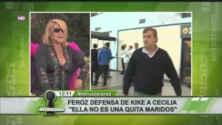 Kike Morandé defiende con todo a Cecilia Bolocco
