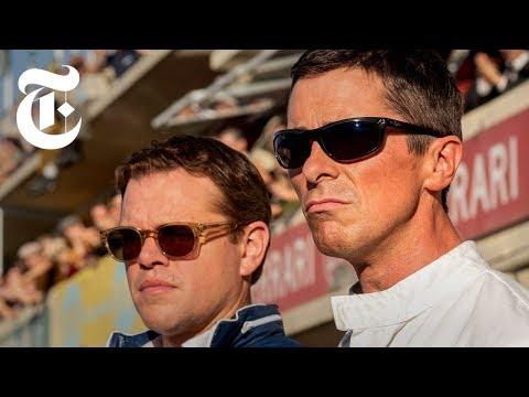 Watch Christian Bale Burn Rubber in 'Ford v Ferrari'   Anatomy of a Scene