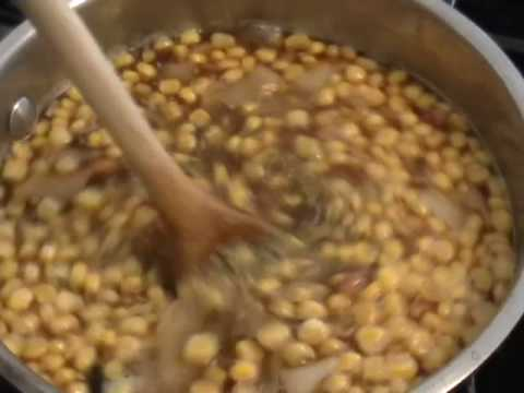 Bumblebee Soup - Bacon, Black Bean, Corn Chowder Recipe