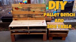 Creating A Pallet Bench