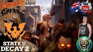 🔴 State Of Decay 2 🔴 Taking Over Map #2 Then Onto The Final Map??? (Continued)