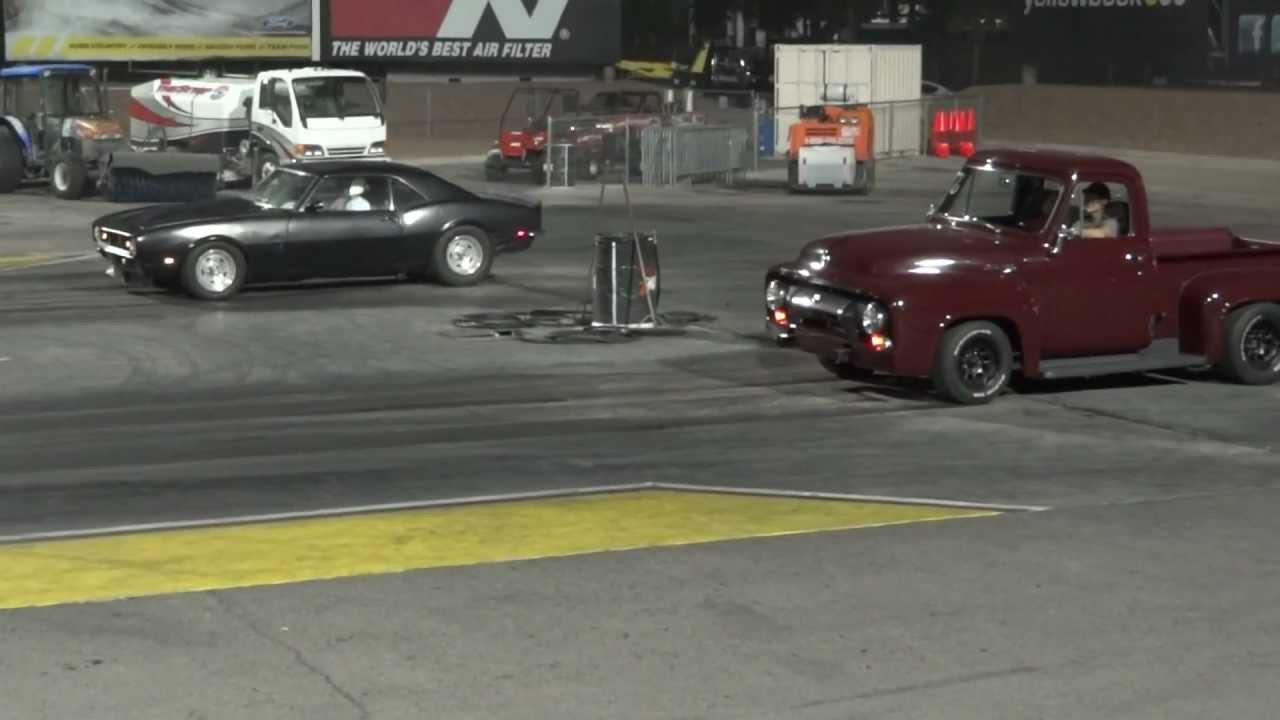 1968 Camaro does 13 second quarter mile - YouTube